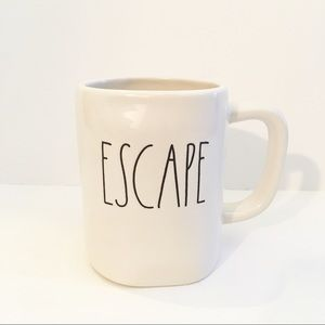 "Rae Dunn ""Escape"" Coffee Mug"